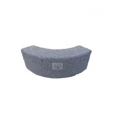 Curva - Cordolo in granito bocciardato fine