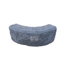 Curva - Cordolo in granito lavorato alla punta