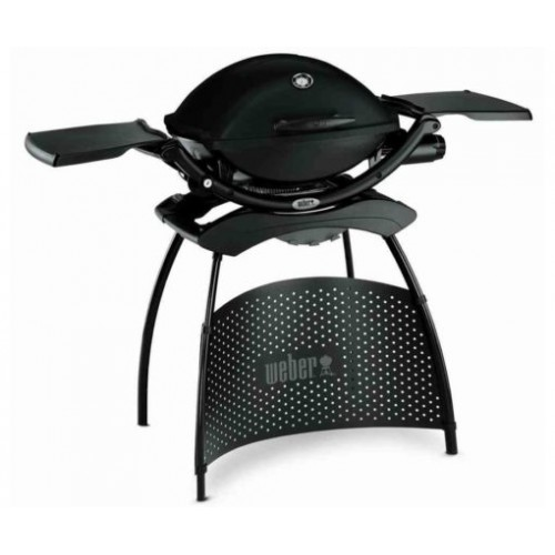 Barbecue a Gas Weber Q 1200 Stand, Black with differentiation 51010353