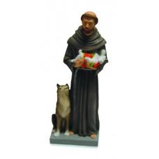 S. Francesco con lupo