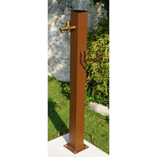 Fontanella punto acqua quadrato colore bronzo