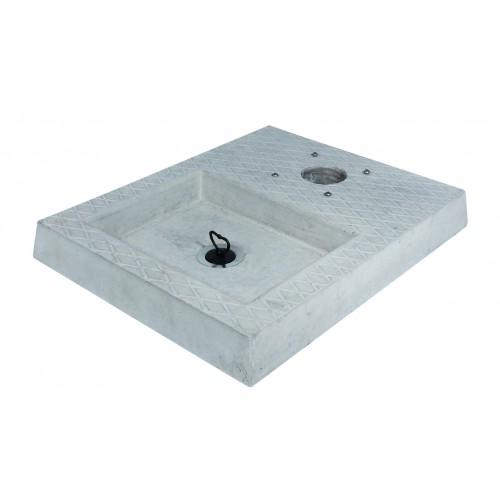 Base in cemento con vaschetta 42/BSC/4