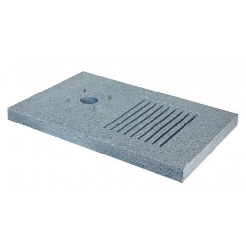 Base rettangolare in granito 42/BSM/A