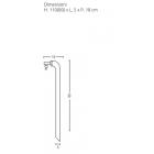 Fontanella in ferro modello cannuccia 42/CN