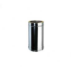 Elemento lineare INOX da 0,5 m doppiaparete