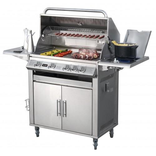 Barbecue a Gas Texas 4