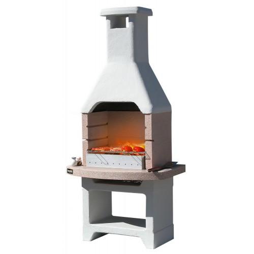 Barbecue a legna e carbonella Oasi Crystal