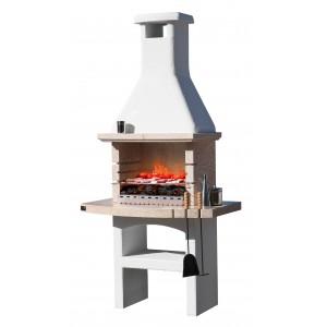 Barbecue a legna e carbonella Touareg